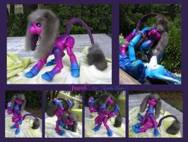 Ball jointed dog - Jaquel by Lithe-Fider