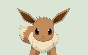 Pokemon Base 125~Eevee 1~