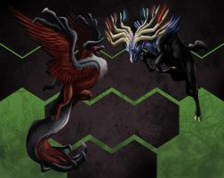 X and Y Legendaries by Legend13