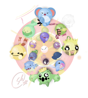 Silly Circlemon Splosion by SteveKdA