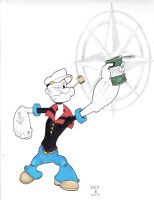 Popeye Colors by DoctorFantastic