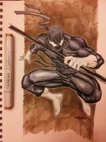 Grendel using Copics by Sajad126