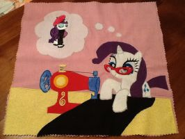 Rarity quilt square by GreenTeaCreations