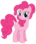 Pinkie Pie Looking At Us or You by TomFraggle
