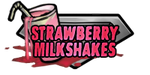 BBT Strawberry Milkshakes Logo by zii