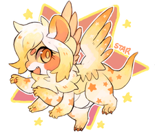 AUCTION [20 HOURS]! STAR MOTHDRAGON by suikuzu
