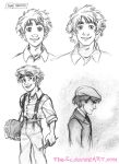 Teen Theodore Roughs - August 2013 by The-Ez