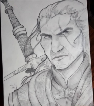 Geralt of Rivia by MissLu1984