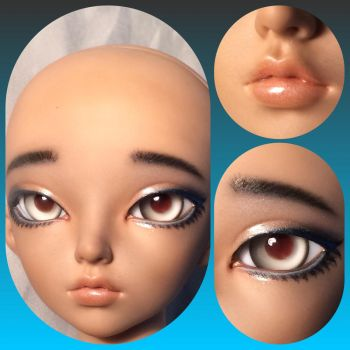 Shiloh's Faceup by DustyTears