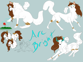 Arc Bright DTA Entry: Character Study by Whitelupine
