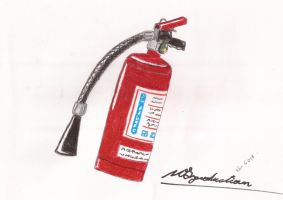 Fire Extinguisher by mickeyelric11