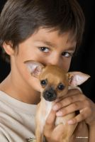 A Boy and His Pup by DavidMCoyle