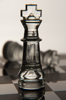 Glass Chess Piece - Victory by dworld