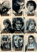 LOTR Sketch Cards 4 by RandySiplon