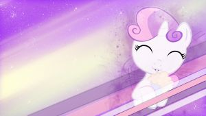 Sweetie Belle Desktop BG by Winter-218
