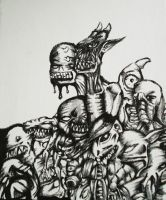 Undead Mosh by PeaceEatter