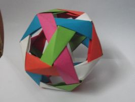 [Modular Origami] Dodecahedron by UltraBill
