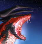 Yveltal Maw by Kuroleopard