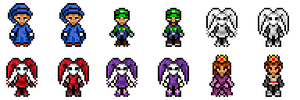 Sprited People by SladeJT