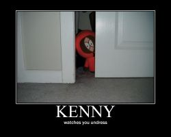 Kenny Demotivational by ParamourxLights