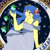 Juvia-Moonlight princess by Nekonojosei