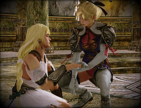 Sophitia and Cassandra - Hope Remains by FoxboroNRoses