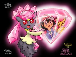 Pokemon - Diancie and the Cocoon of Destruction by GustavoCardozo97