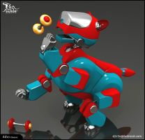 Aibo pose04 by D3r3x