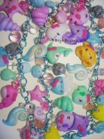 Necklace 'Sea Life' Detail by Bojo-Bijoux