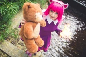 Play with Tibbers ! by Ally-bee