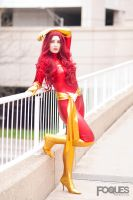 Dark Phoenix - Marvel Comics by jillian-lynn