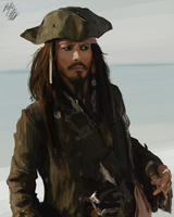 Jack Sparrow - study by PeterPrime