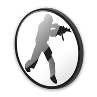 Counter Strike Logo Icon by mahesh69a