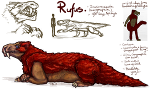 Rufus The Gorgonopsid Breedable: PAUSED! by Jesseth