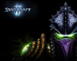 Zeratul Wallpaper by Daviash