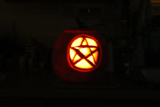 The Pentacle Pumpkin by LucceKorgath