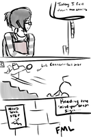 FML: Stairs by CaptRainbowMacMuffin
