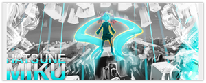 Hatsune Miku Sig by TheAceOverlord