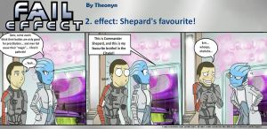 Fail Effect 2 - Shepard's favourite by Theonyn