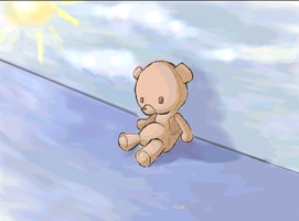 Teddy beneath the clouds by Moonseed
