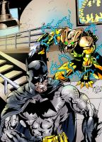 Batman vs. Predator by Dragonslayer9000