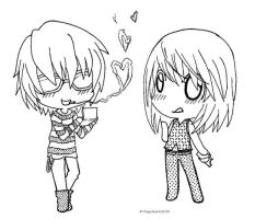 Matt and Mello by Paigy-POP