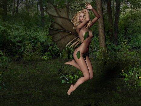 Leaf fairy by Avalokita
