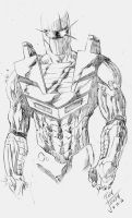 ROM SPACEKNIGHT- Tuesday morning warmup pencils by RONJOSEPH-ARTIST