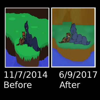 Before And After by SkyPaint1
