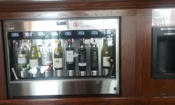 A wine vending machine. by Hyo38