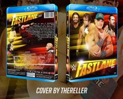 WWE Fast Lane 2015 Custom BluRay Cover by TheReller