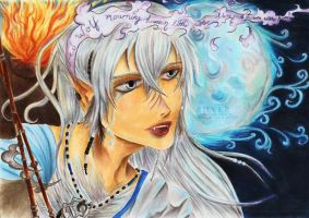 I Am Wolf: Silver by Khallandra