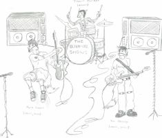 blink-182 as Foxes by CrashyBandicoot
