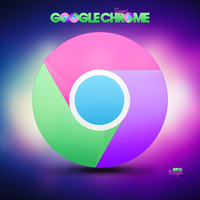 Google Sugar Chrome Logo by Msbermudez